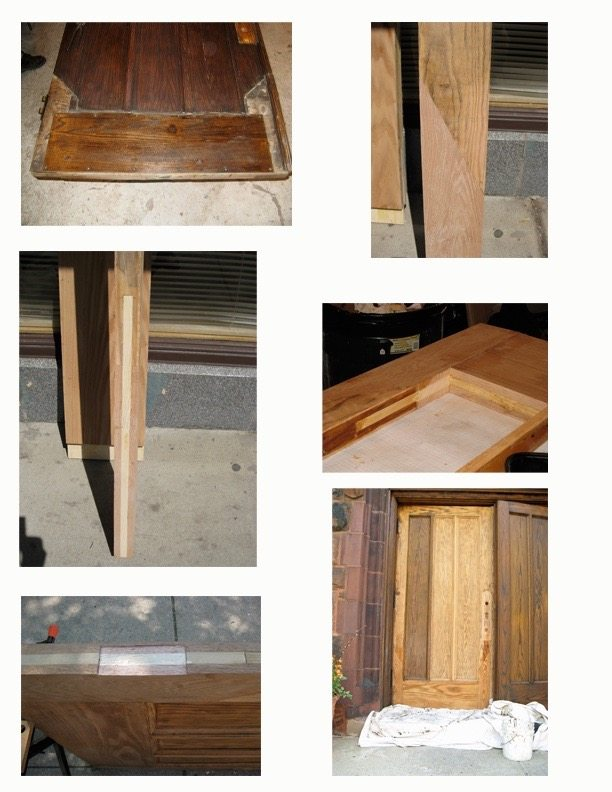 Still not convinced old doors can be restored? Here\u0027s a residential door that most people would think was too far gone. Not us though! & Atonement Doors - Oak Brothers Pezcame.Com