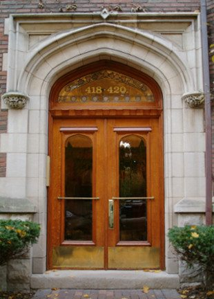 Evanston 1 Church Street Entry Doors